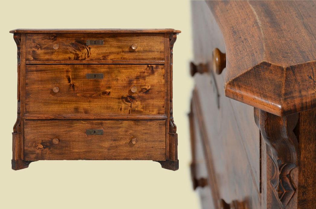 Kommode Schubladenschrank Schublade Etagere Säulen