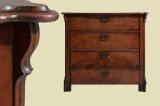 Antik Gründerzeit Nußbaum Herrenkommode Kommode von 1880