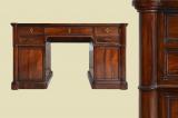 ECHT Antik Englisch Empire Mahagoni Sekretär Schreibtisch von 1890