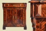 Antik Louis Philippe Gründerzeit Kommode Halbschrank von 1870