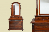 Antique Wilhelminian style dresser dresser from 1880