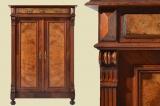 Antiker Biedermeier Mahagoni Blender Schrank von 1820