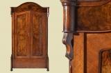 Top Antiker Louis Philippe Mahagoni Beistelltisch Tisch Spieltisch von 1860