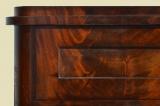 Antike Art Déco / 2.Biedermeier Mahagoni Halbschrank Kommode von 1920
