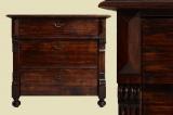 Antike Gründerzeit 3-Schüber Kommode von 1880