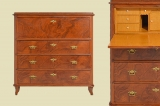 Great Antique Louis Philippe Commode Secretary from 1860