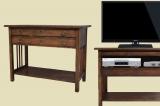 Antike TV Schrank Beistelltisch Kabinett Kommode von 1920