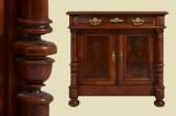 TOP Antik Gründerzeit Säulen Halbschrank Kommode von 1880