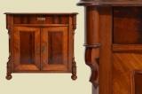 TOP Antike Louis Philippe Mahagoni Halbschrank Kommode von 1870