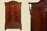Antiker Louis Philippe Wäscheschrank Kleiderschrank Schrank von 1870