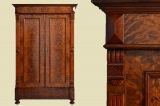Antiker Gründerzeit Kleiderschrank Schrank von 1880 - zerlegbar
