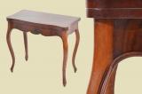 Top Antiker Louis Philippe Mahagoni Beistelltisch Spieltisch Tisch von 1860