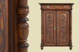 -RESERVIERT- Antik Jugendstil Schrank Kommode Vertiko mit Säulen von 1920