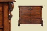 -Reserviert- Schöne Antike Louis Philippe Mahagoni Kommode von 1870