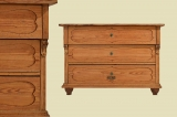 Beautiful antique Art Nouveau softwood chest of drawers from 1920