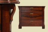 Schöne Antike Louis Philippe Mahagoni Kommode von 1870