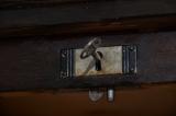 Antik Jugendstil Rolladenschrank Klavier Notenschrank von 1920