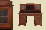 Schöner Antiker Jugendstil Sekretär Schreibtisch mit Aufsatz von 1920