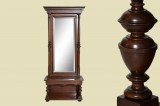 Antique walnut Wilhelminian style console mirror console mirror from 1880