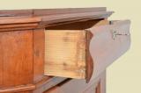 Antiker Biedermeier Schrank Kommode Vertiko Eckschrank von 1820