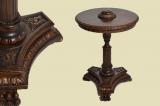 Antiker Gründerzeit Beistelltisch Rauchtisch Teetisch von 1880