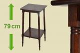 Antiker Jugendstil Beistelltisch Sockel Grammophon Tisch von 1920